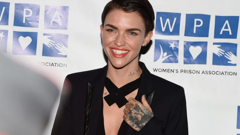 "Ruby Rose at the ""Orange is the New Black"" Season 3 screening benefiting the Women's Prison Association in the US."