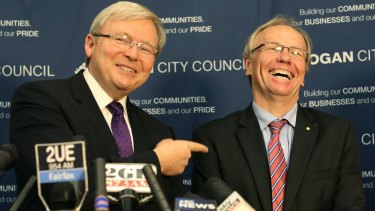 Then-prime minister Kevin Rudd lured former premier Peter Beattie out of political retirement to run in Forde in 2013. He was unsuccessful.
