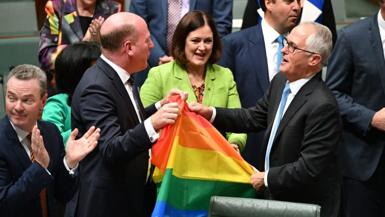 The marriage vote was one of Malcolm Turnbull's few feel-good moments.