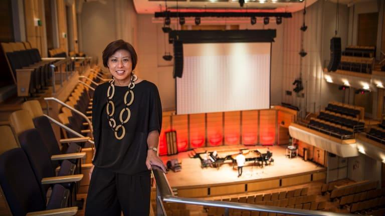 "Hidden gem: Elaine Chia wants the City Recital Hall to be ""part of Sydney's fabric""."