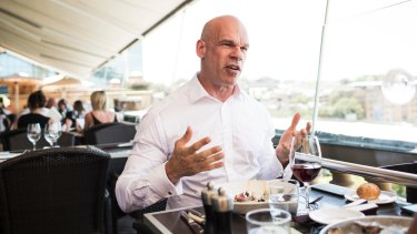 Locked out: former Chief Digital Officer Paul Shetler.