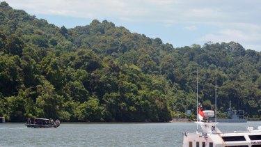 The rugged beauty of Nusa Kambangan.