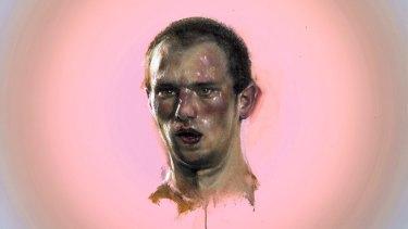 Louise Hearman's Untitled #1405 (detail), 2015.