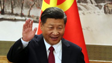 The communist emperor? Chinese President Xi Jinping.