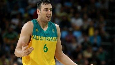 Australian basketballer Andrew Bogut.