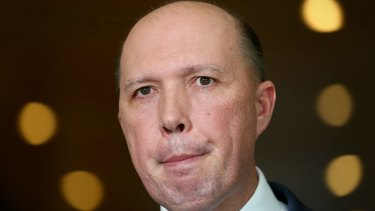 "Peter Dutton says the amendments aim to clarify the laws so that they ""reflect the original policy intent""."