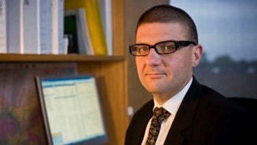 Former ACTU assistant secretary Tim Lyons.