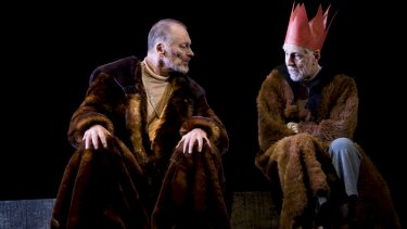 King Lear (with John Bell in the role, left) has always been a magnet for famous actors.