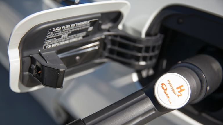 The number of hydrogen-powered cars on the road will number into the millions by 2030.
