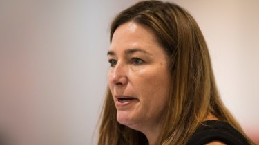 Housing minister Yvette Berry argued against moving public housing tenants out of the city in 2014.