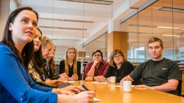 The tax department of the Icelandic Customs agency, where most jobs are held by women and only a few by men.