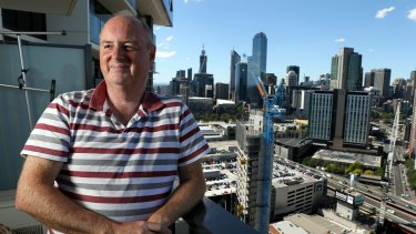 Brian Adams is unhappy with the energy efficiency predictions given for his Southbank apartment.