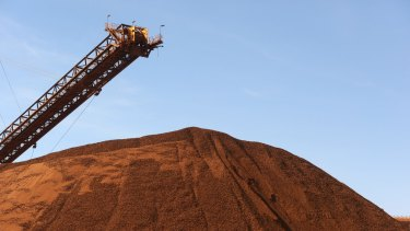 "Fitch said ""the closure of high-cost iron ore mines has been slower than we previously anticipated""."