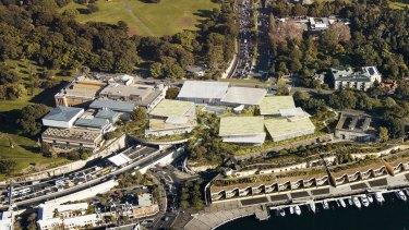 New views: Artist designs for the Art Gallery's Sydney Modern redevelopment.