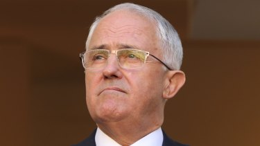 "Malcolm Turnbull: ""his party's soul searching will not be resolved with an election""."