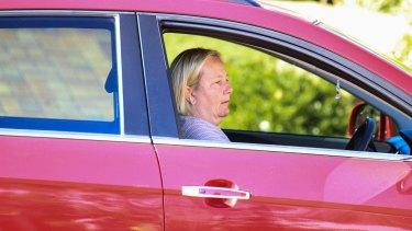 Sally Faulkner's mother, Karen Faulkner, spoke briefly to media outside their north Brisbane home on Friday.