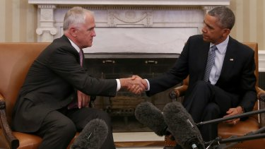 It was obvious from the snippets of news from Malcolm Turnbull's visit that he was not backward in putting  an Australian view to President Barack Obama.