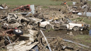 The 2011 Queensland floods cost an estimated $14.1 billion.