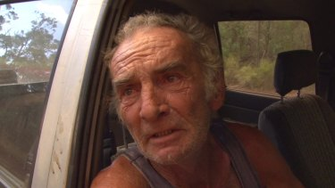 Warren Jarvis says he has lost his home and animals to the fire near Cassilis.