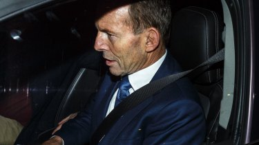 Former PM Tony Abbott is opposed to the Finkel review.