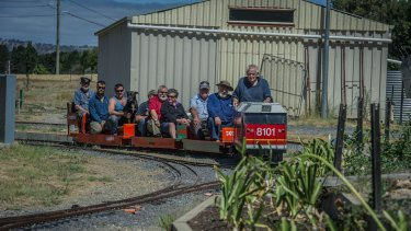 All aboard! Canberra Miniature Railway opens in its new home