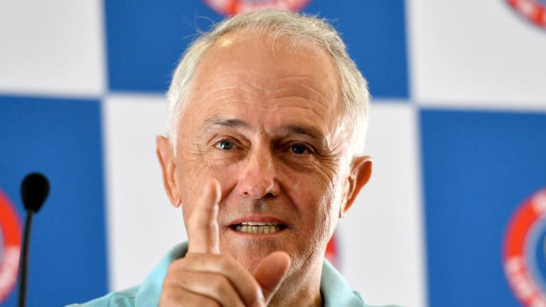 Malcolm Turnbull floats the idea of a postal plebiscite on the republic.