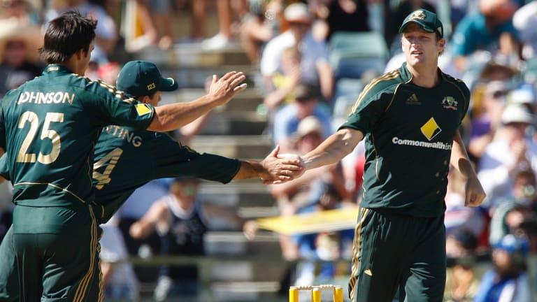 Veteran: Cameron White is back in Australian colours.
