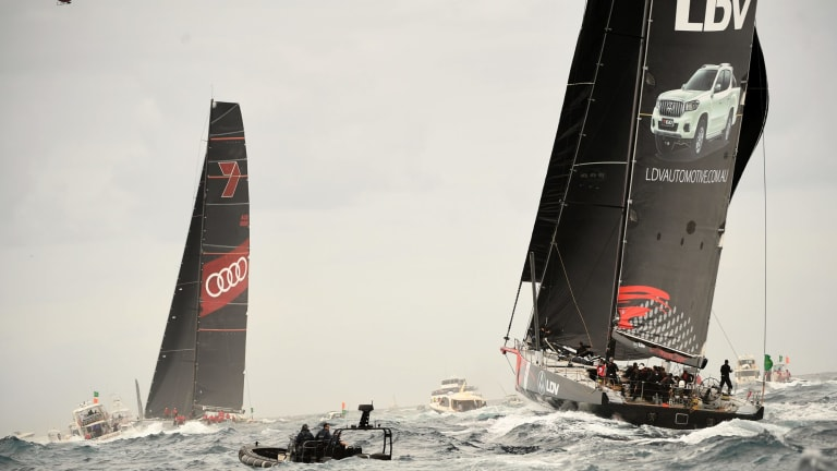 Wild Oats XI and Comanche both smashed the record.