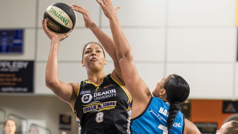 Liz Cambage scored 38 points to go with 13 boards.