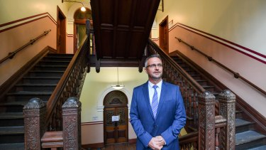 Jon Black, managing director of TAFE NSW, pictured at the Ultimo Campus.