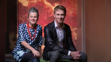 Science Gallery director Rose Hiscock and creative director Ryan Jefferies are co-curating the gallery's exhibition about blood.