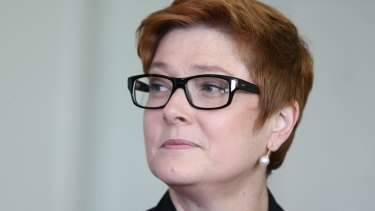 Australian Defence Minister Marise Payne.