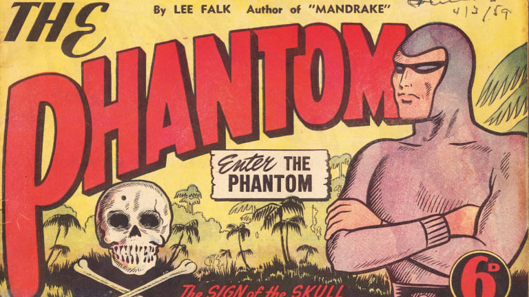 Frew Publications has published the Phantom comic in Australia since 1948. The publishers were unsure how it would sell so did not number the edition as number one as they weren't certain there would be a number two. Original editions in mint condition now sell for $10,000.