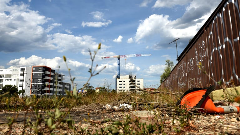 The undeveloped block of land at 548 Canterbury.