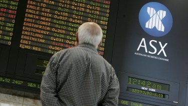 Friday's gains on Wall Street weren't enough to provide support to the local sharemarket, with the ASX diving sharply on Monday's open.