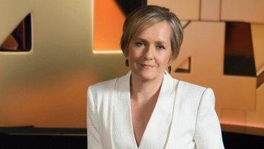 <i>Four Corners</i> host Sarah Ferguson.