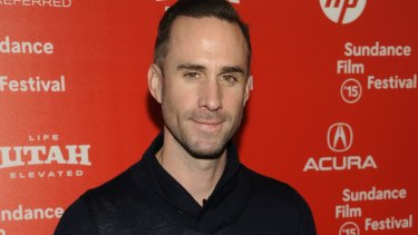 Controversial selection ... English actor Joseph Fiennes was cast as Michael Jackson in the television special.