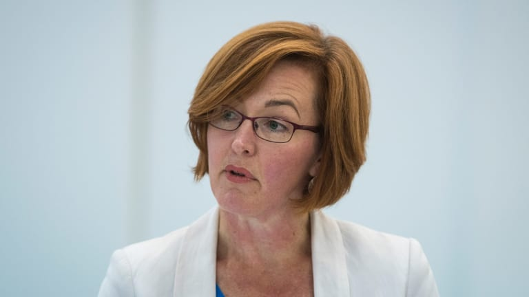 Health Minister Meegan Fitzharris will split the ACT's health directorate into two agencies.