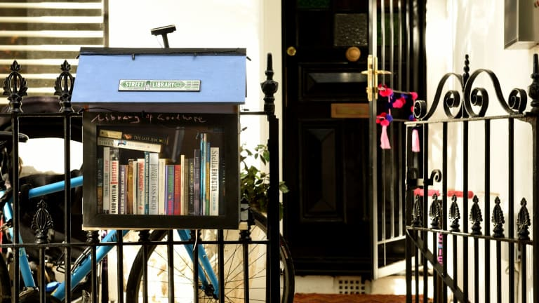 A street library in Paddington.