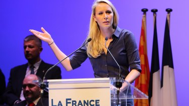 Marion Marechal-Le Pen, the National Front's leading representative for south-eastern France.