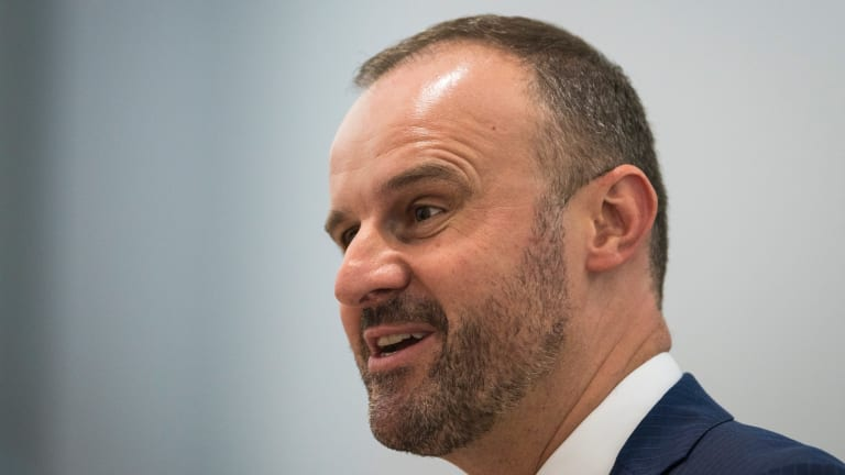 Legislative Assembly Question Time. Chief Minister Andrew Barr.