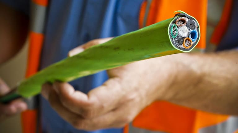 The original NBN plan, fibre to everywhere, was laudable. But it didn't happen.
