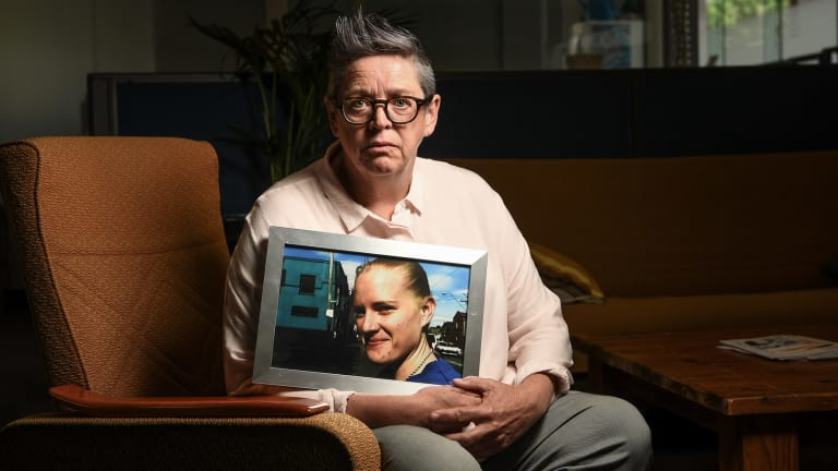 Karen Field, the guardian for Julie Preston who was repeatedly abused  and sexually assaulted while a patient in a mental health unit.