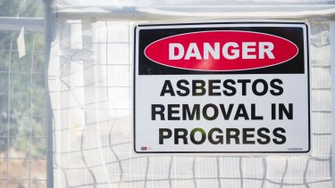 Asbestos removal jobs in western Sydney have increased 64 per cent since 2015, according to Hipages.