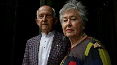 Peter Greste's parents, Juris and Lois.
