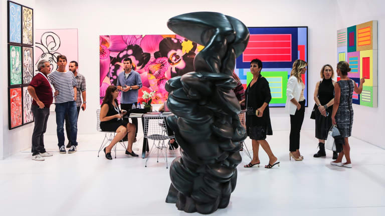 Contemporary Istanbul 2018 drew strong support from  Turkish galleries.