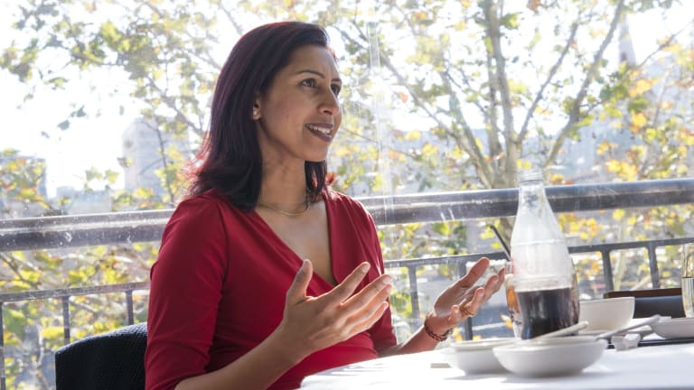 Ranjana Srivastava, author and doctor specialising in cancer.