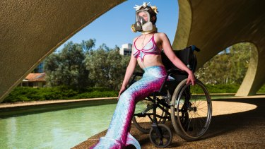 Hanna Cormick will perform at Art Not Apart this weekend for the first time since being wheelchair bound.