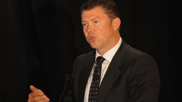 Collingwood CEO Gary Pert.