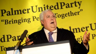 Clive Palmer will headline the Queensland Poetry Festival in Brisbane this weekend.